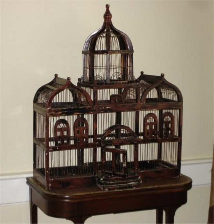 Antique Bird Cages For Sale | Large Victorian Bird Cage