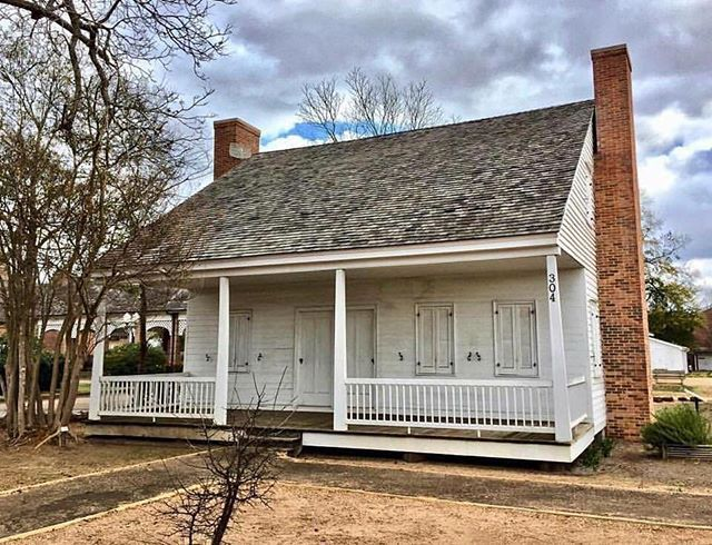 Texas Trivia- The Historic Durst-Taylor House c  1835 is the