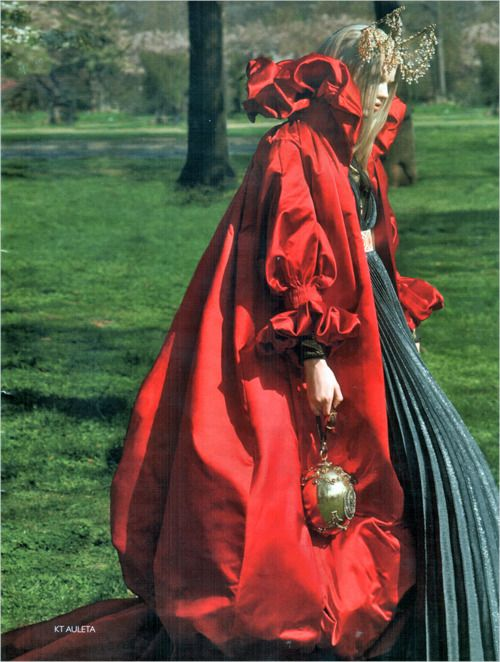 Alexander McQueen - 2008 18th century exaggerated dress to bring attention to one area