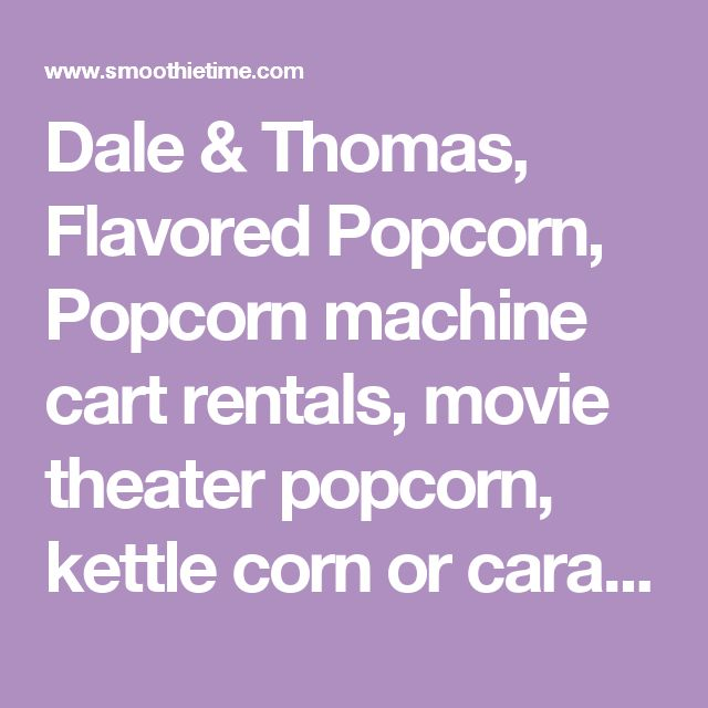 kettle corn machine rental