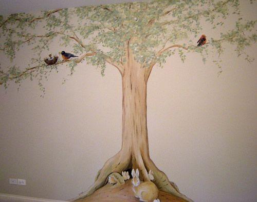 pictures of peter rabbit murals | Nature Themed Nurseries | Muralist Debbie Cerone