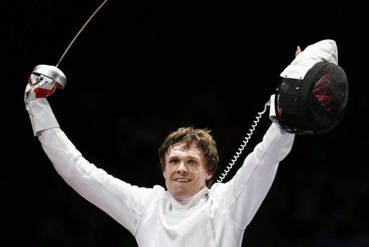First Norwegian fenching (epee) medal EVER!!  Bartosz Piasecki