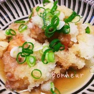 鶏肉のさっぱりおろし煮+by+Bonheurさん+|+レシピブログ+-+料理ブログのレシピ満載! 隠し味のお酢と、たっぷりの大根おろしでさっぱりといただけます。2013.2.19イチオシレシピに選ばれました。