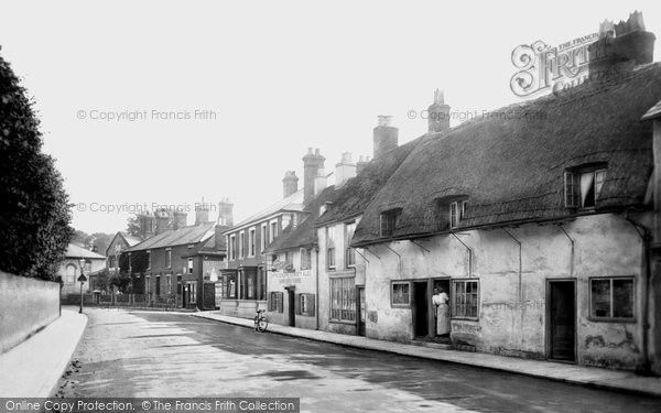 Romsey The Hundred 1911 From Francis Frith Hampshire Uk Hampshire Romsey