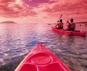 Kayaking at Victor Harbor