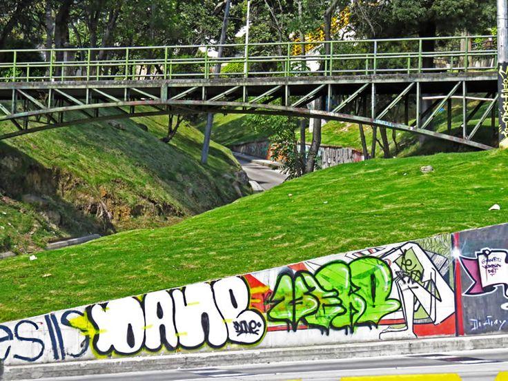 7. Mural en la unión de la Carrera Quinta con la Calle 26, por el Parque de la Independencia.