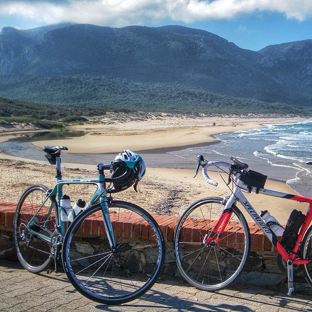 What a fantastic 'Sardinia experience' waking up in the seaside town of Portixeddu, in Carbonia-Iglesias. It's along the coast of the Golfo del Leone, which is one of the most amazing coasts in #Sardinia. The bike travellers of Sardinia Grand Tour stopped here on their inaugural bike tour around the island.  #sardegna #italy #biketour #sardiniagrandtour #italy   #biketravel #bicycletouring #cicloturismo #bike