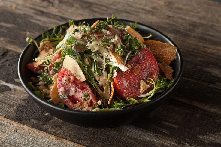 Salade fattouche crémeuse au fenouil | Recettes | Signé M