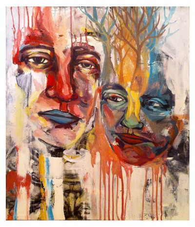 "Painting - LIZ RANNEY ""Crowns"""