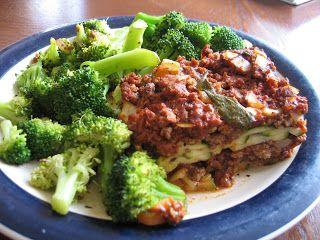 Zucchini Lasagna (gluten and dairy-free) | Forging Ahead