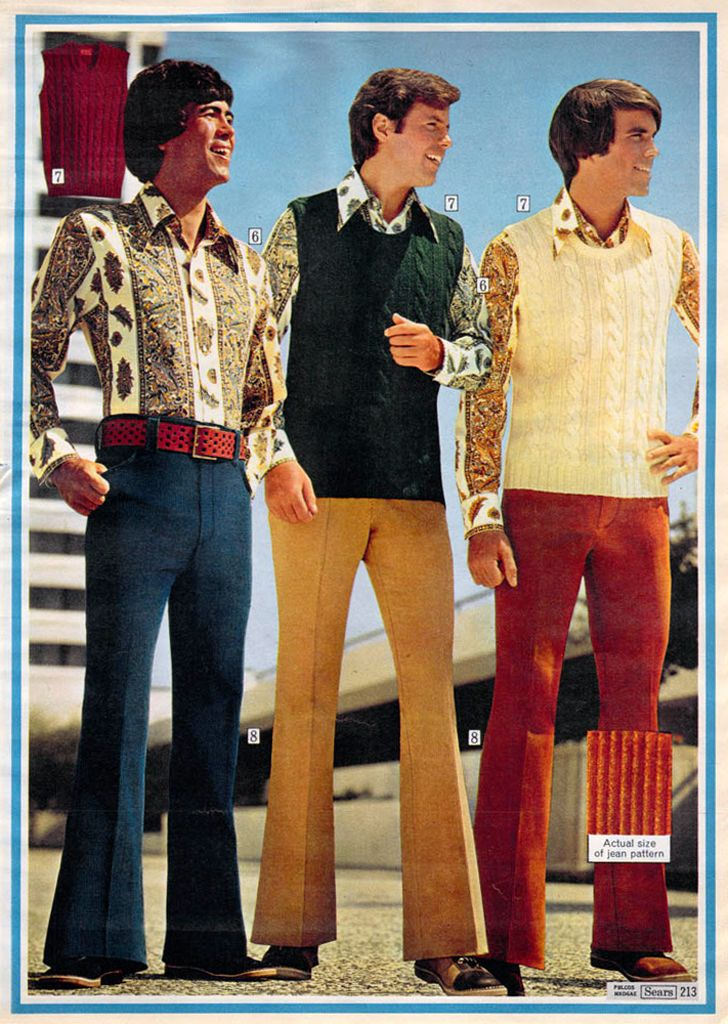 1972 — widewale corduroy jeans from the sear's christmas