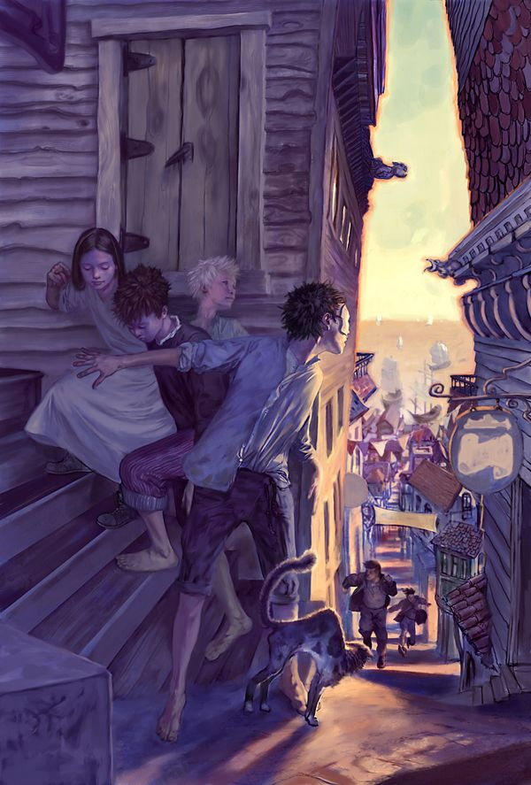 I see this guy's paintings featured every so often on different sites and always click through to see who it is, only to realize it's that same person (Jon Foster).