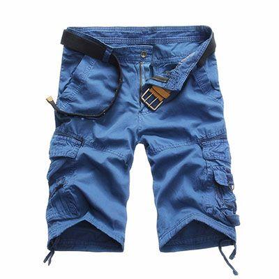 Aliexpress.com: Comprar Nuevo 2015 verano del ejército Cargo Shorts hombres de bermudas Short flojo pantalones herramientas Shorts militares de cortos damas fiable proveedores en MASCUBE STORE
