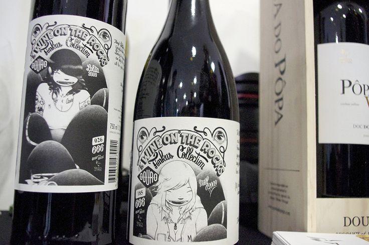 Wine On The Rocks, a Finkus Collection Milf '09 a blend from #Douro from Quinta do Pôpa #vinosmaximum #taninotanino