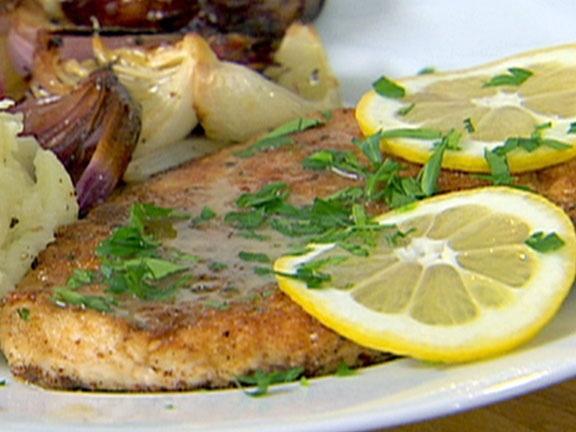 Chicken Piccata from FoodNetwork.com: Quick Dishes, Easy Quick, Chicken Recipes, Barefoot Contessa, Chickenpiccata, Freezers Meals, Ina Garten, Contessa Chicken, Chicken Piccata Easy