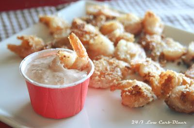 Fried Shrimp with Southern Comeback Sauce | 24/7 Low Carb Diner | Bloglovin'