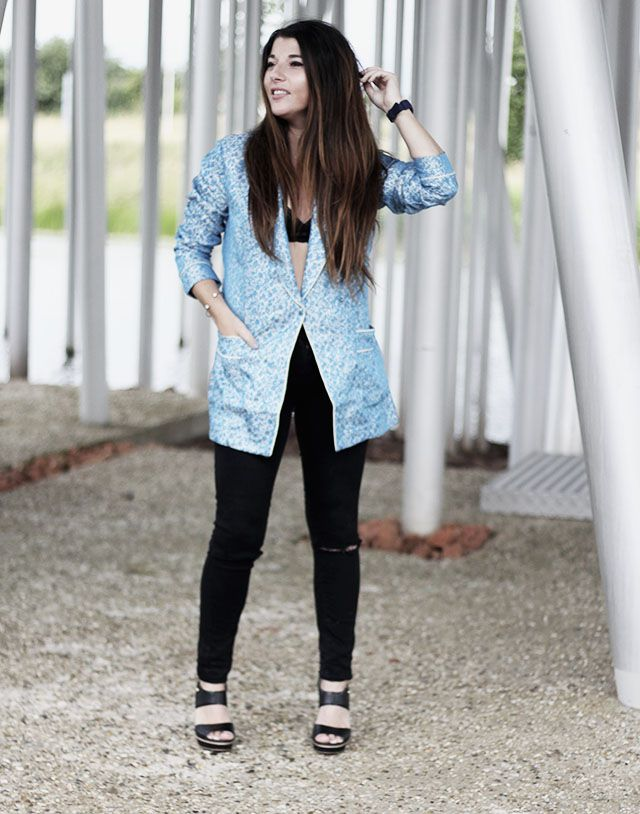 H&M - Blazer , Noisy May Pants, Tommy Hilfiger shoes 1