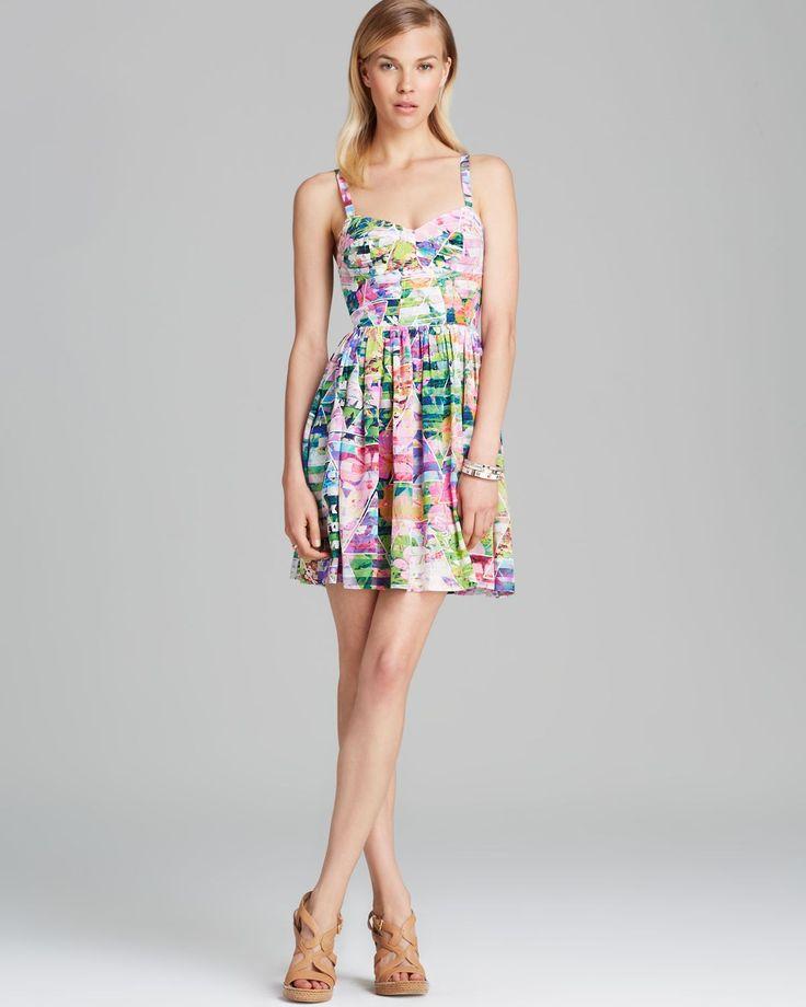 Amanda up richard dress emerson multicolor