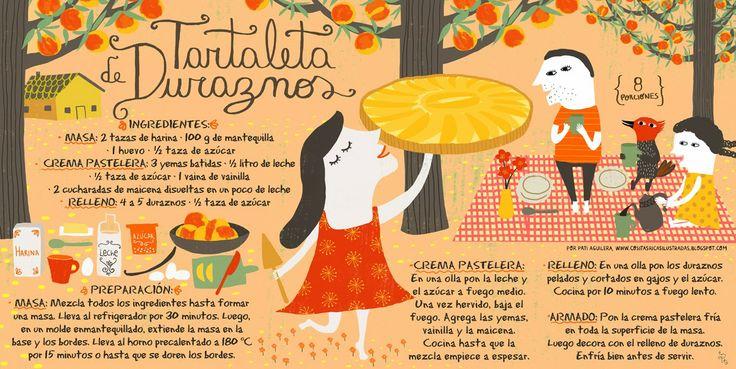 Tartaleta+de+duraznos_pati+aguilera_cositas+ricas+ilustradas_ilustración+chile.jpg 1.200×603 píxeles