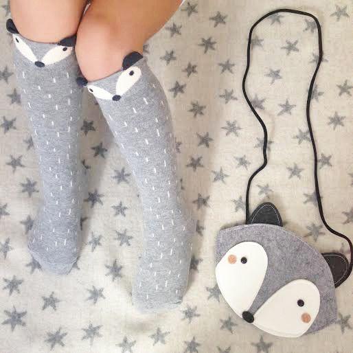Fox or Raccoon Knee Socks                                                                                                                                                                                 More