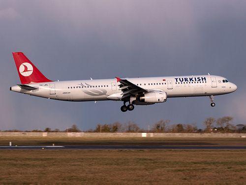 Turkish A321-231 TC-JRL | Landing at Dublin with snow shower… | Flickr
