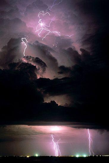 ✯ Purple Skies and Lightning