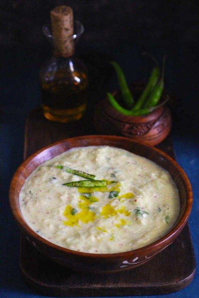 The first taste impression of Pahadi Kheere ka Raita is like a hit of strong taste, and definitely an addictive taste. funfoodfrolic.com