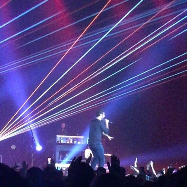 CMT On Tour, Thomas Rhett, Brett Eldredge & Danielle Bradbery performed on Thursday at Covelli Centre