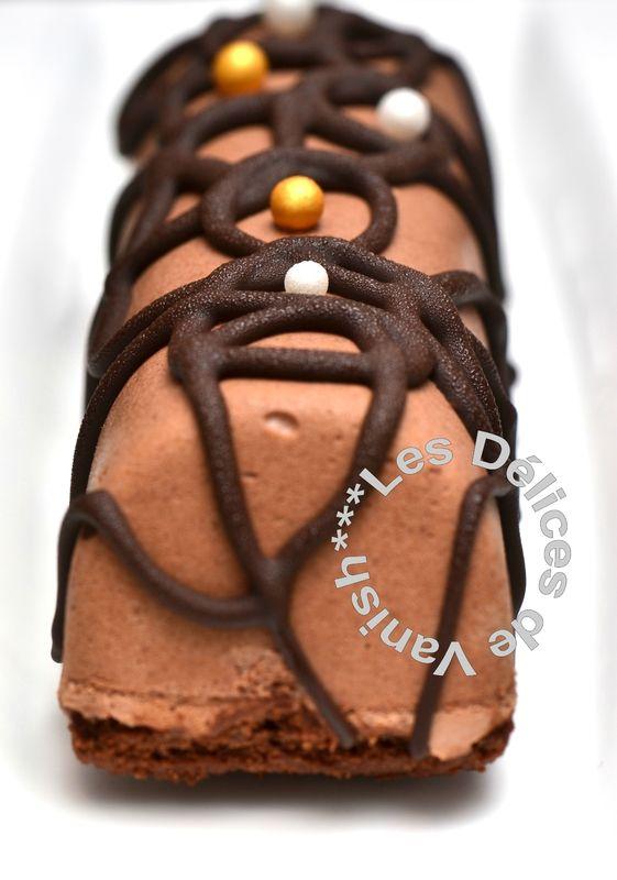 Bûchettes chocolat noir coeur fruits de la passion
