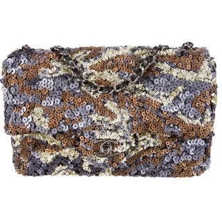 Chanel Sequin Flap Bag as seen on Khloe Kardashian