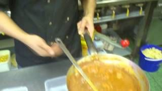 Eating the hottest curry phall