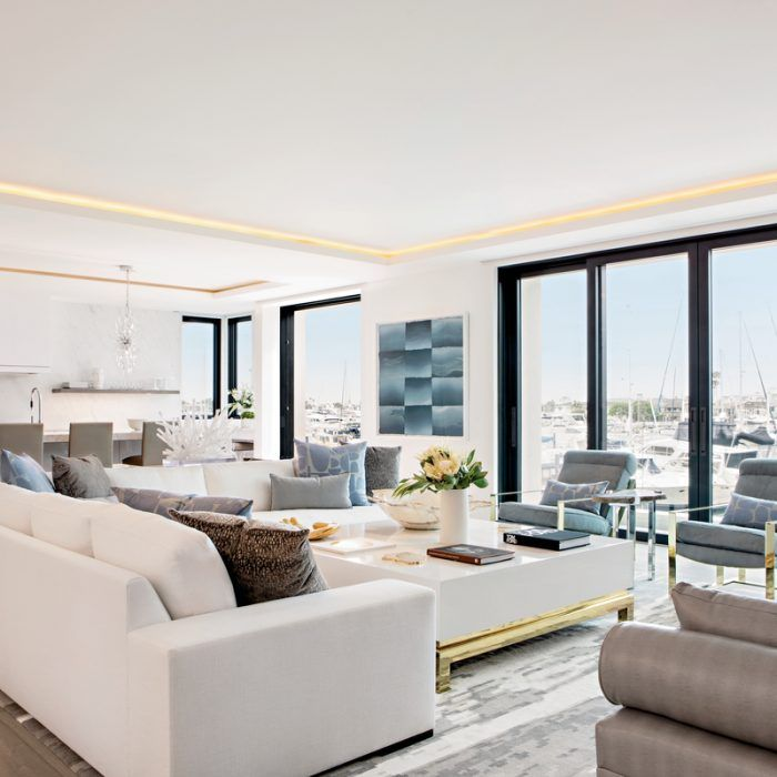 A Contemporary Gem Shines In Corona Del Mar Interior Design