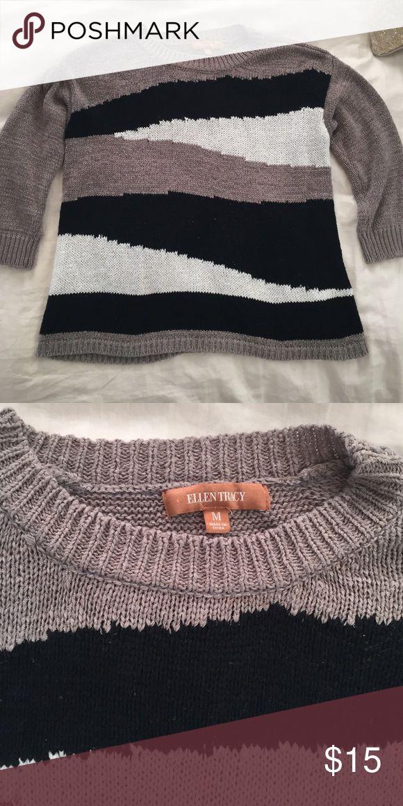 Ellen Tracy hipster sweater size M Ellen Tracy hipster sweater size M Ellen Tracy Sweaters Crew & Scoop Necks