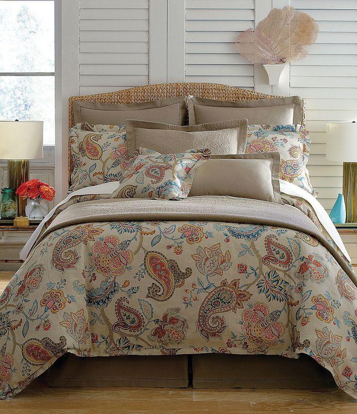 Villa by Noble Excellence Paloma Floral Paisley Mini Comforter Set