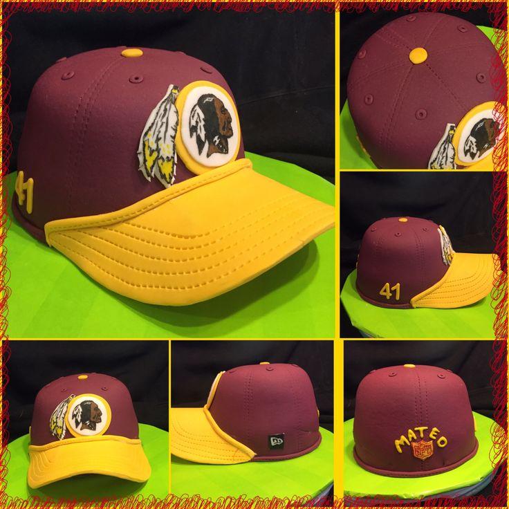 Redskins Hat Cake