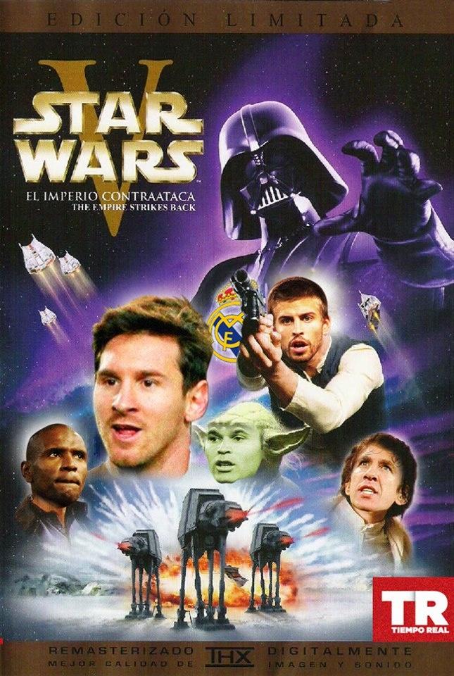 'El Imperio Contraataca', la historia que querías ver tiempo atrás en las canchas del Real Madrid.
