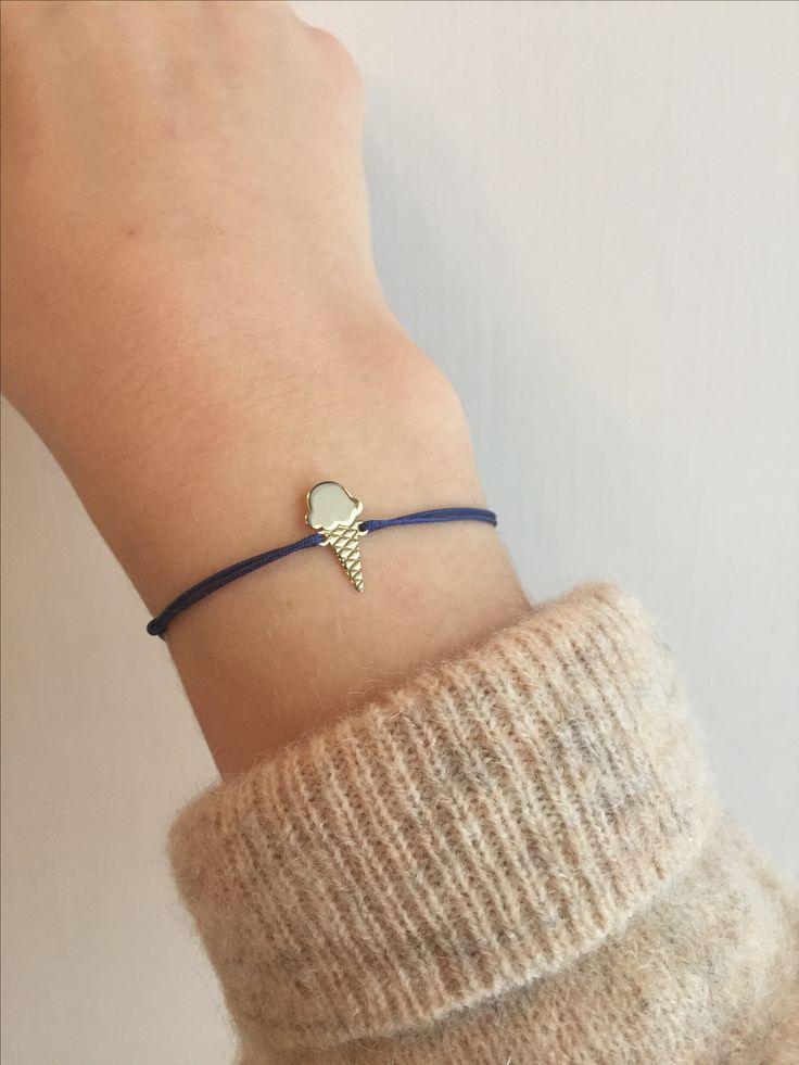 Ice cream bracelet. Bratara cu inghetata. Bracelet. Fine jewelry. Bijuterii personalizate. Lovebird bijuterii. www.lovebird.ro