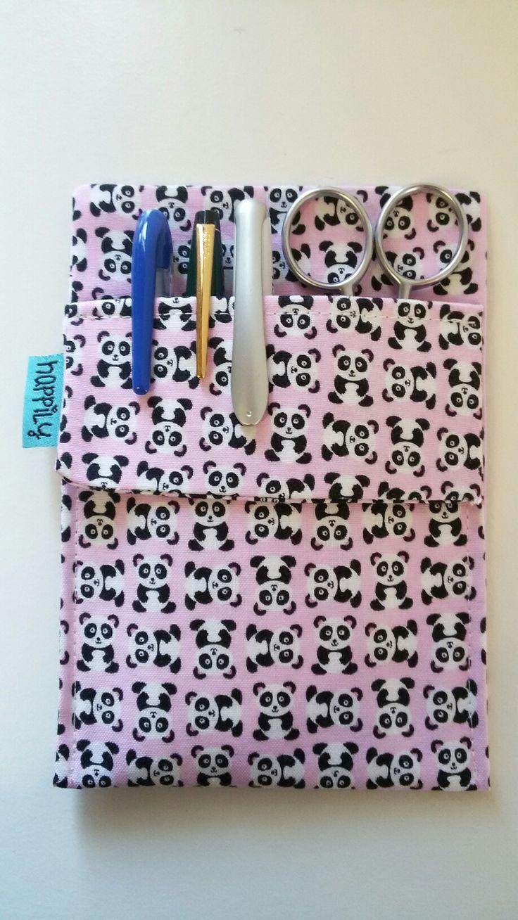 Salvabolsillos pandas Portabolis Happily - gorros de quirófano