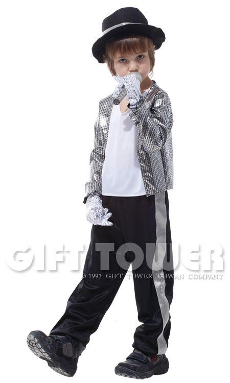 Acteren superster Michael Jackson speelt pak kostuums Halloween kostuum partij prins jongen Michael Jackson kostuum cosplay(China (Mainland))