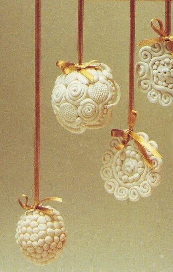 17 migliori idee su pasta di sale su pinterest progetti - Idee x decorare l albero di natale ...