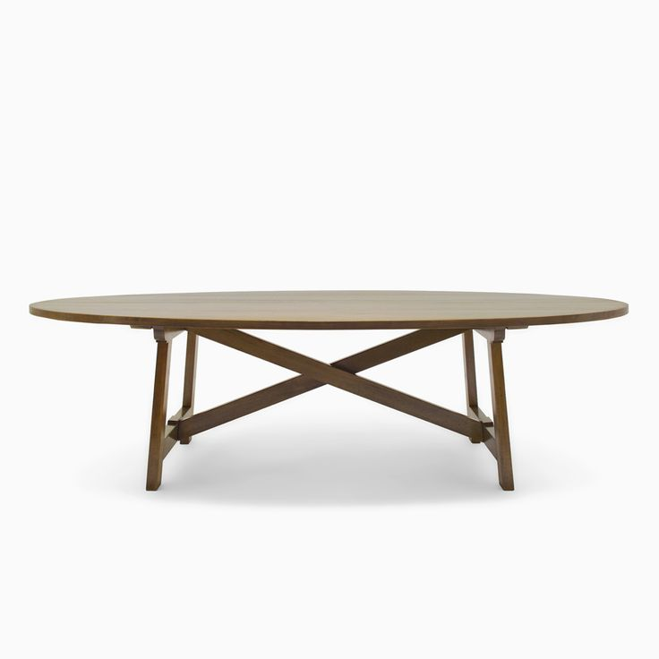 Oval Trestle Dining Table Dining Room Ideas - Oval trestle dining table