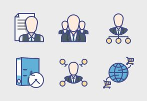 Royale Business Club icons