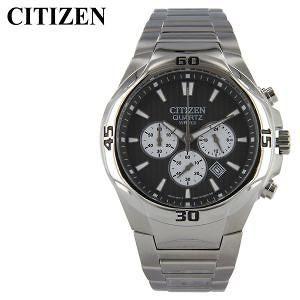 Citizen Silver-Tone Stainless-Steel Chrnograph Men's Watch