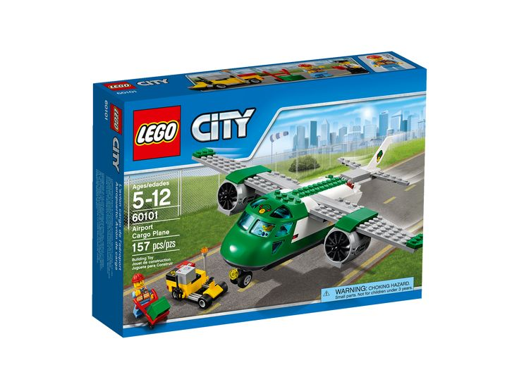 LEGO City Airport Cargo Plane #60101, Interlocking Blocks