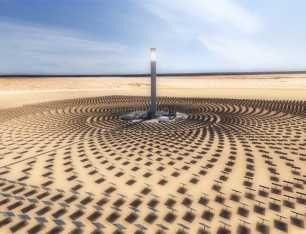 Récord histórico de generación termosolar