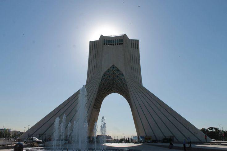 Azadi  monument Tehran Iran