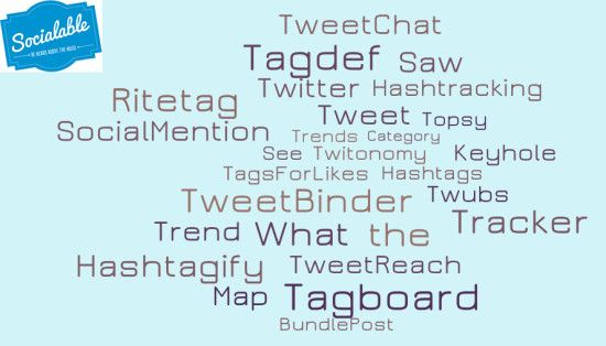 Tools to help you search for hashtags and see real time trending analytics   #hashtags #marketing #socialmedia