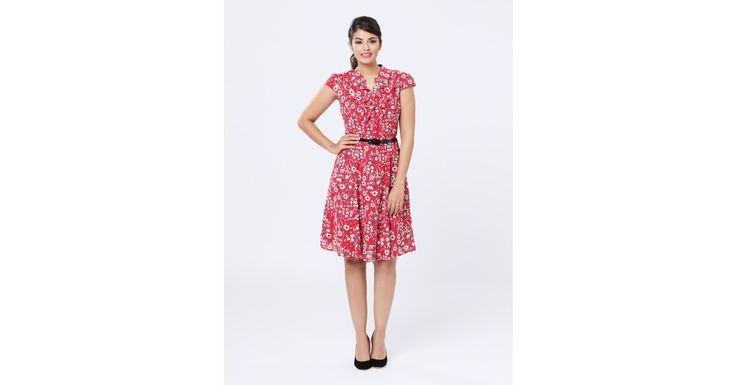 Review Australia - Harrieta Dress Red