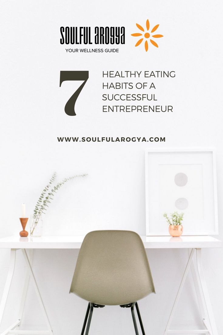 7 Healthy Eating Habits of a Successful Entrepreneur