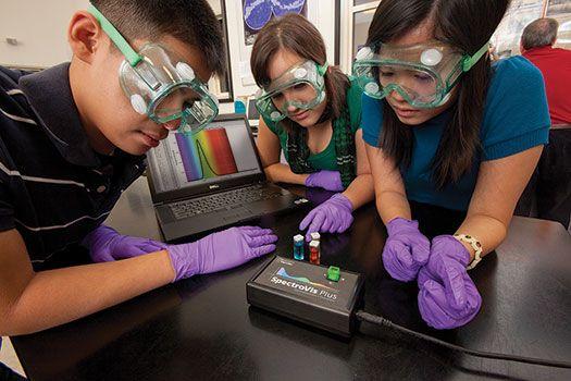 Use the SpectroVis Plus to Explore Fluorescence Spectroscopy > Innovative Uses > Vernier Software & Technology